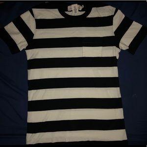 Men's Basic Striped T-shirt